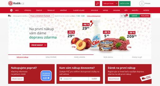 V online supermarketu Kosik.cz končí stávající CEO. Firmu přebírá ze 100 % nový vlastník