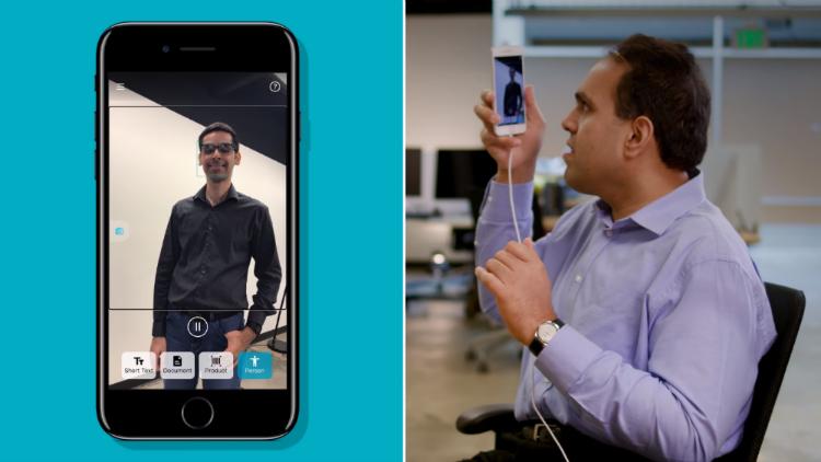 Microsoft vytvořil aplikaci pro slabozraké, která jim převede okolní svět do mluvené podoby