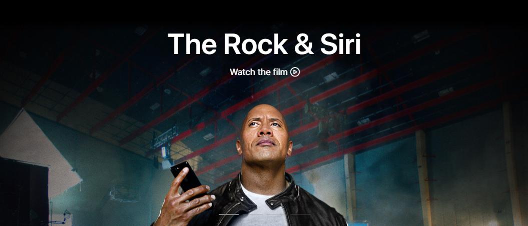 Podívejte se na nový krátký film od Applu s Dwaynem Johnsonem, který propaguje Siri
