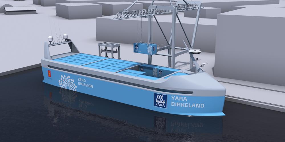 Norská loď Yara Birkeland