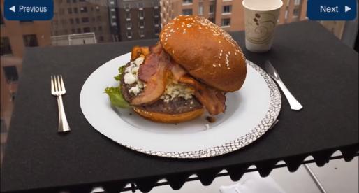 Díky rozšířené realitě od Applu si můžete virtuálně prohlédnout například jídlo v restauraci