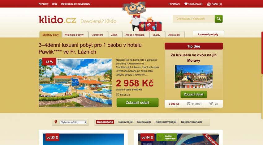 Původní majitel slevového serveru Pepa.cz spouští zcela nový projekt Klido.cz