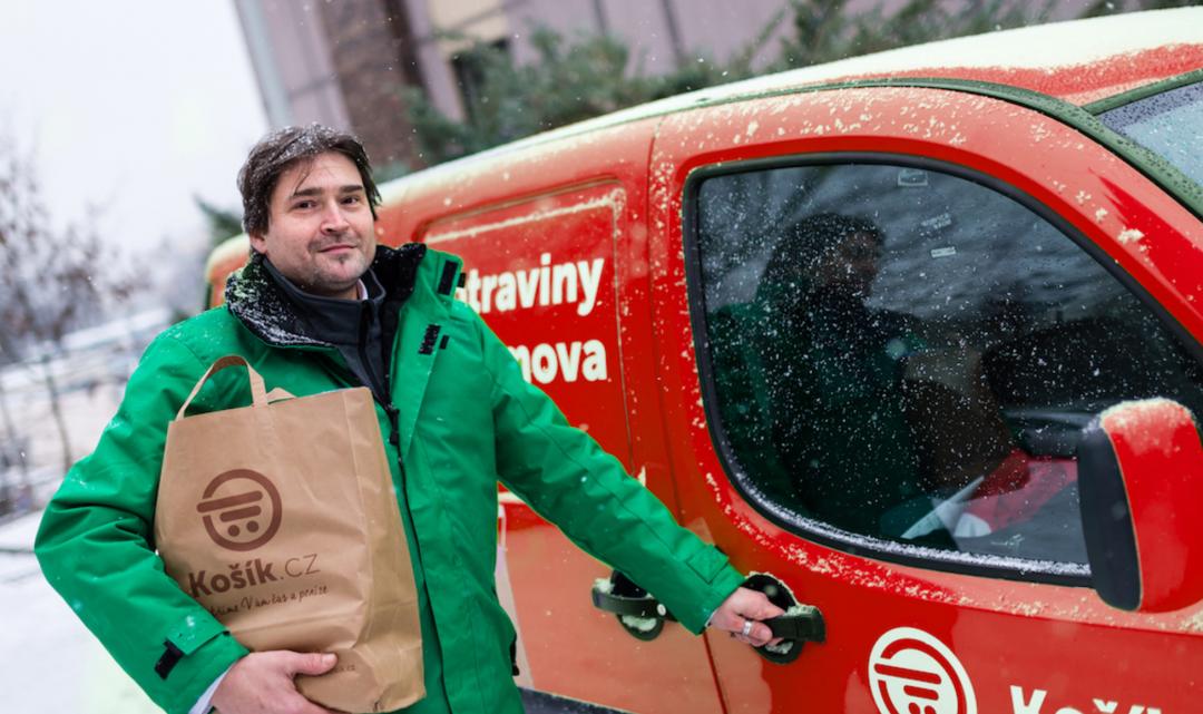 Rozvozová služba Kosik.cz má nového CEO a chce se zaměřit na doručování potravin firmám