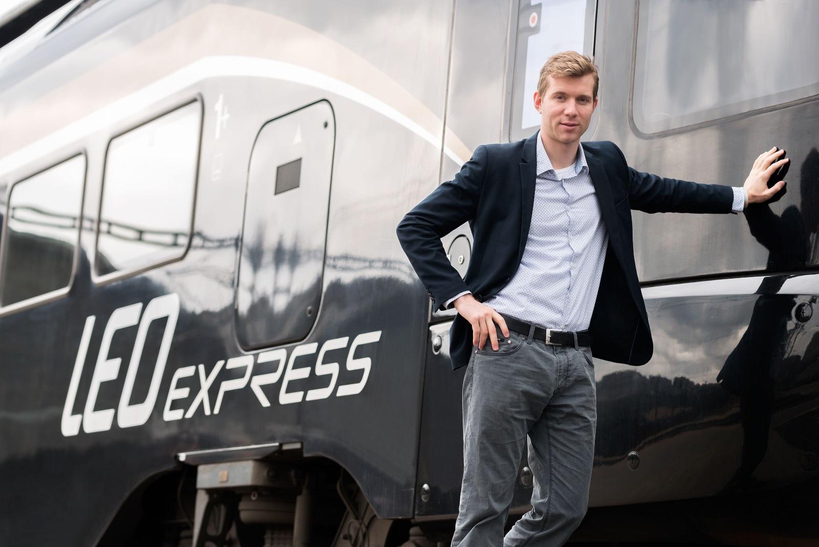 Leoš Novotný, majitel LEO Expressu