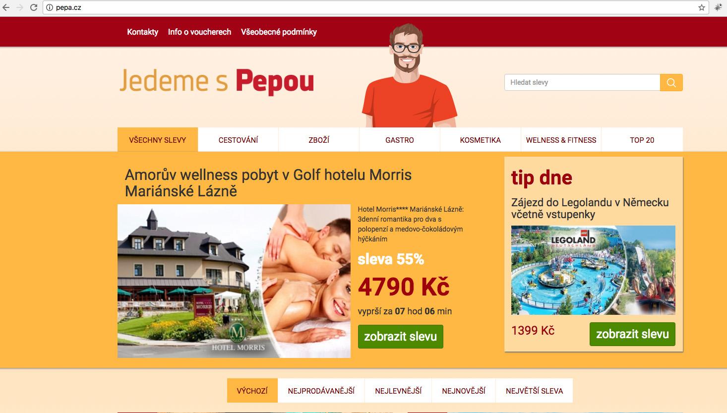 Nový projekt fungující na doméně Pepa.cz