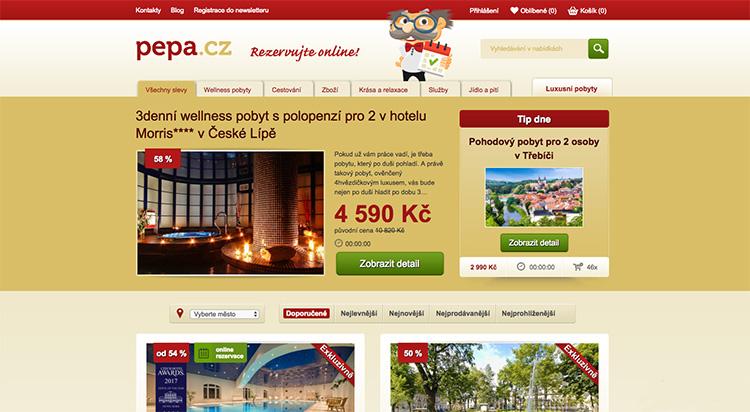 Dvojka na trhu slevových portálů Pepa.cz přišla o svoji doménu