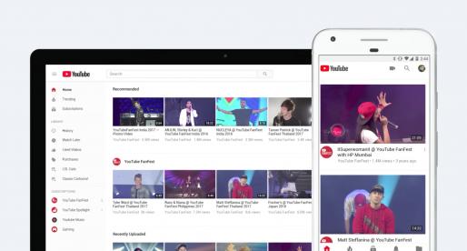 YouTube mění své logo a představuje spoustu dalších vylepšení pro mobilní aplikaci