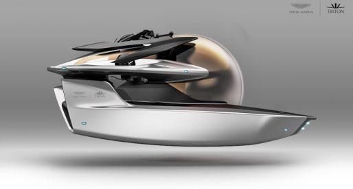Takto vypadá první luxusní designová ponorka legendární britské automobilky Aston Martin