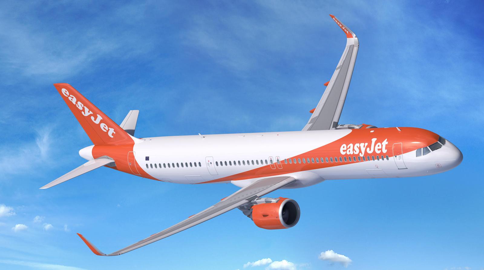 Airbus A321neo v barvách EasyJet