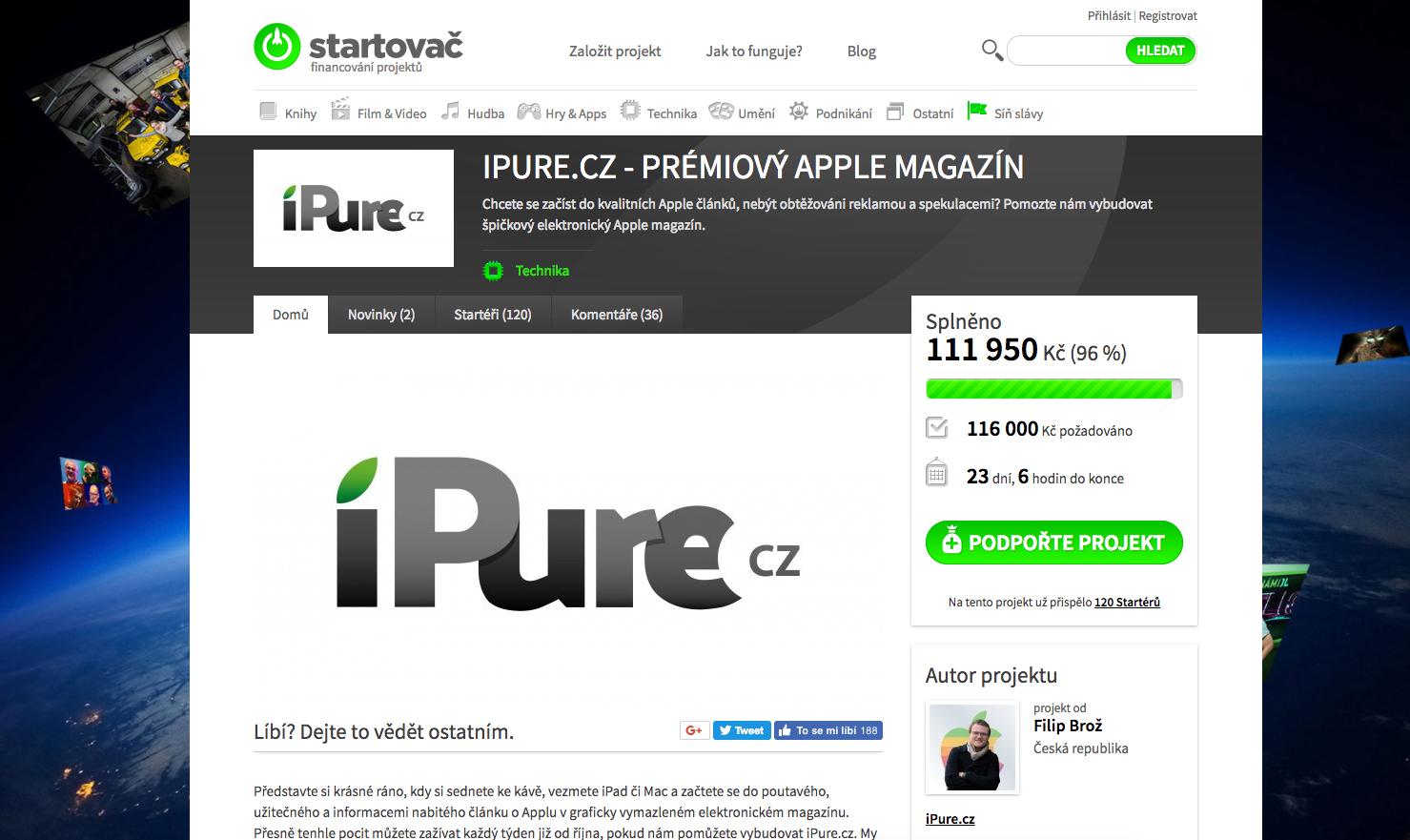 iPure kampaň