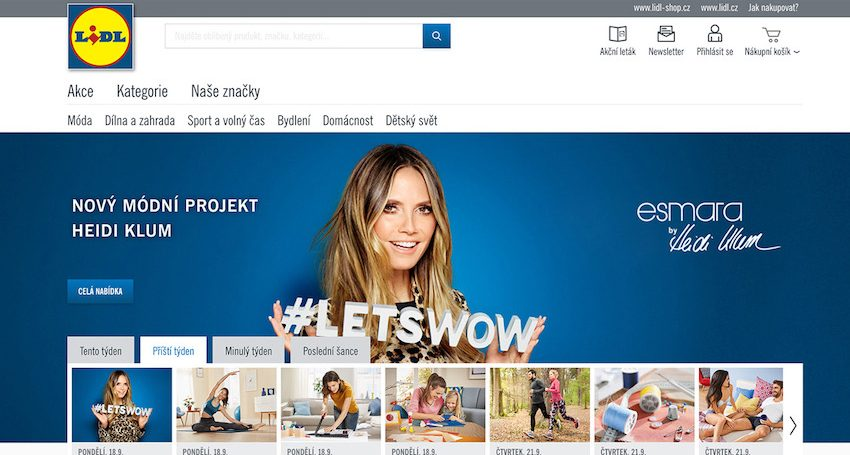 Nový e-shop Lidlu v Česku: Konec tlačenicím v sedm hodin ráno?