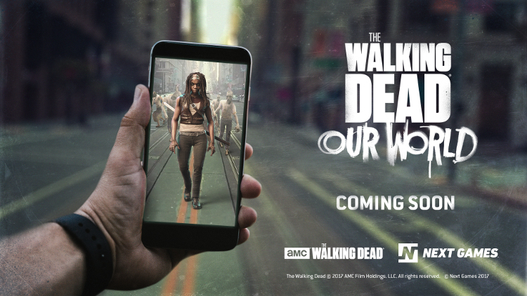 AMC a Next Games chystají herní rozšířenou realitu s tématikou The Walking Dead