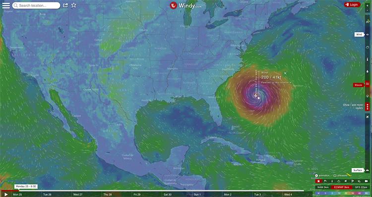 Český startup Windy.com Iva Lukačoviče pomáhá médiím a vládám s předpověďmi hurikánů Irma a Maria