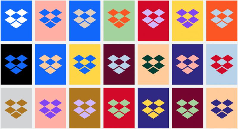 Dropbox redesignoval do retro barev a odstranil
