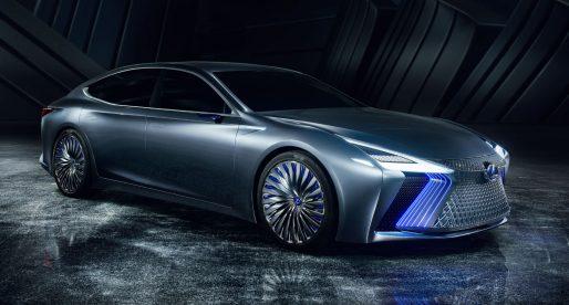 Podívejte se na design luxusního samořídícího vozu automobilky Lexus, který bude v prodeji v roce 2020