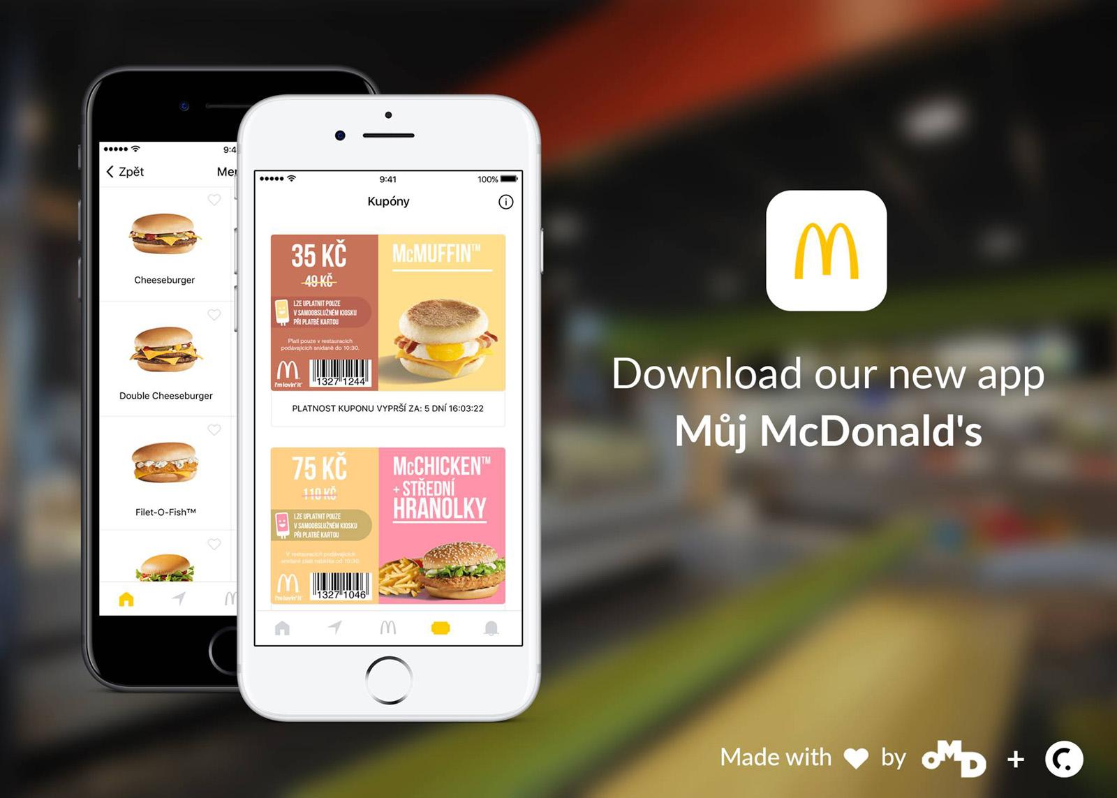 Aplikace Můj McDonald's