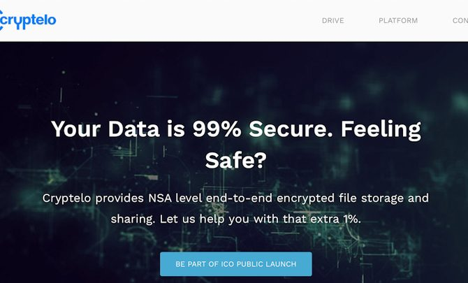 Český bezpečnostní startup Cryptelo chce pomocí kryptoměnového ICO získat miliony dolarů