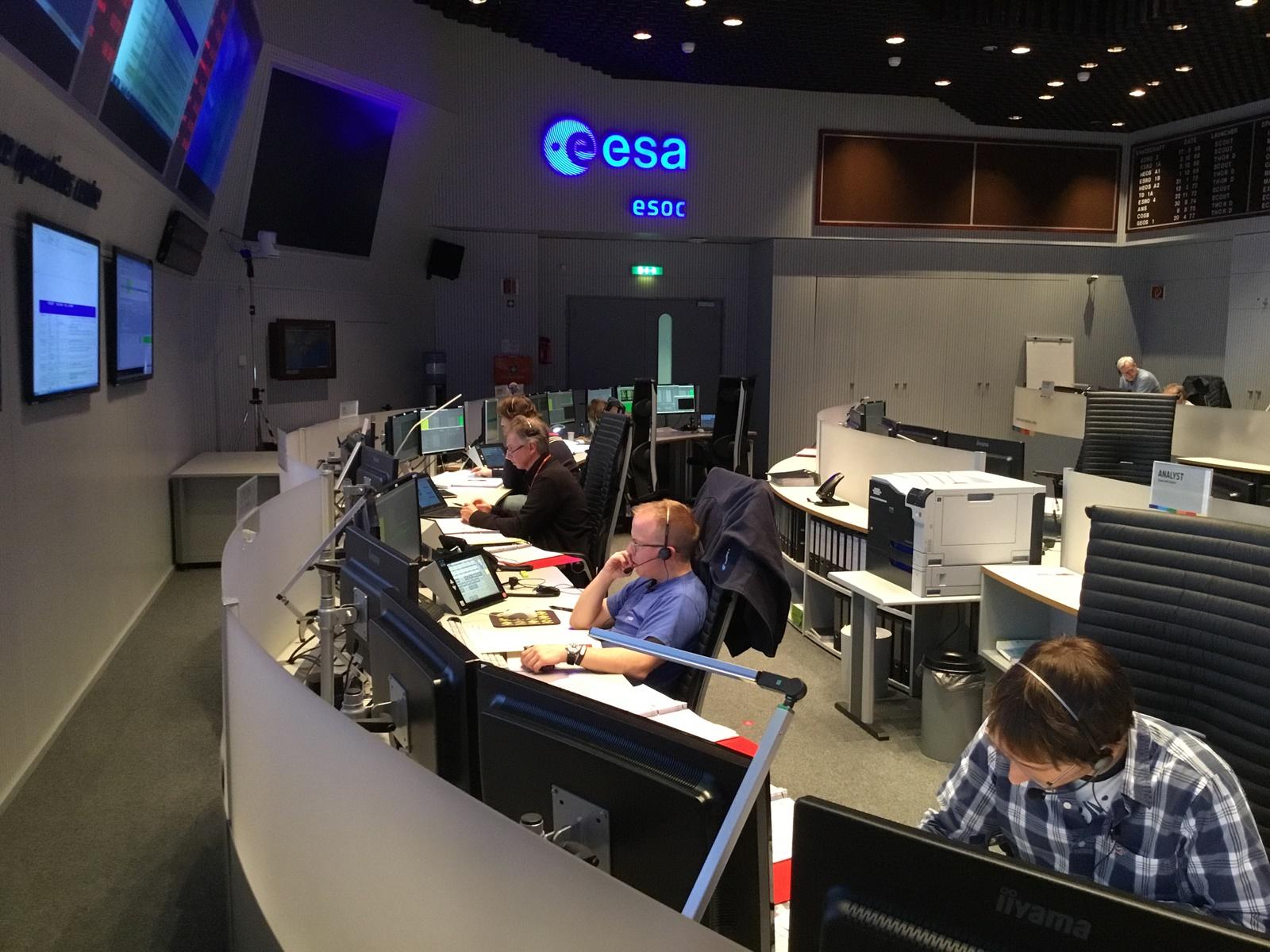 Řídící středisko ESA