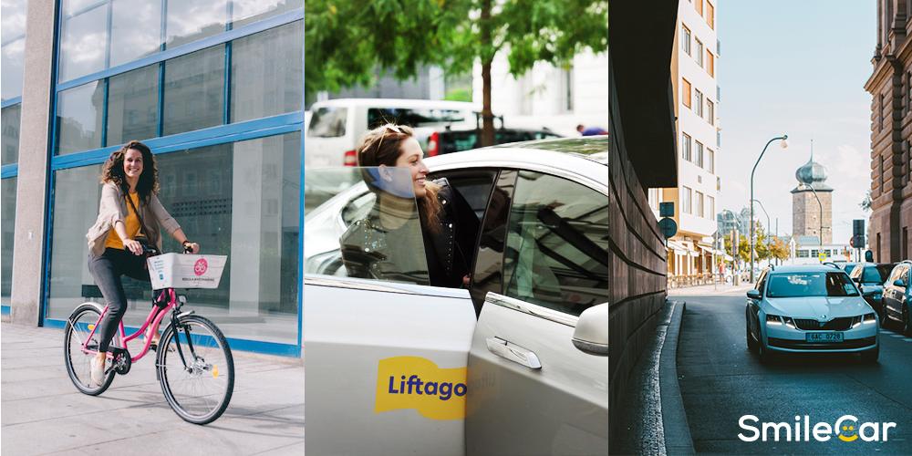 Přepravní služby Liftago, Rekola a SmileCar nabídnou cestování k volbám zadarmo nebo se slevou