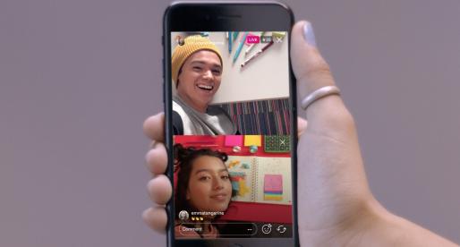 Instagram spustil novou funkci, díky které můžete do živého vysílání pozvat své kamarády