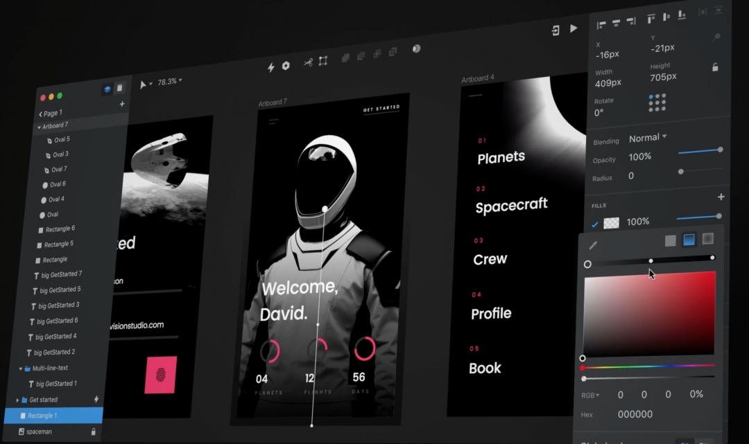 Oblíbený prototypovací nástroj InVision spustí vlastní editor na tvorbu designu webů a aplikací