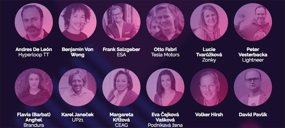 Na Startup World Cup & Summit v Praze se představí český inženýr ze SpaceX a český designér z Faraday Future