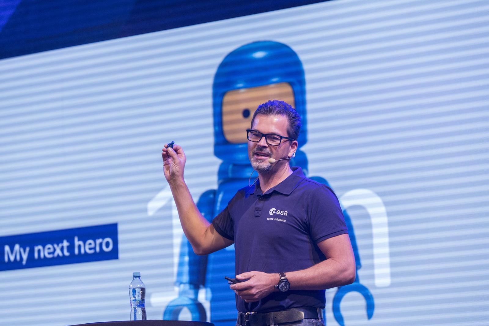 Frank Salzgeber na letošním Startup & World Cup Summit
