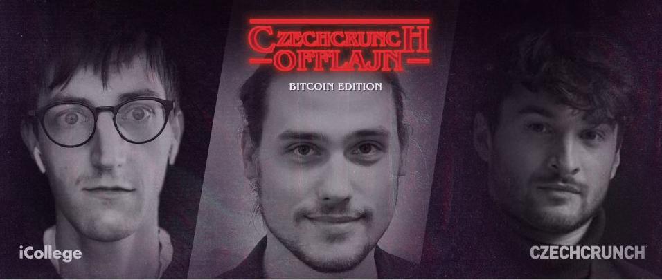 CzechCrunch Offlajn – Bitcoin, Ethereum a Litecoin Edition už tuto neděli v Praze