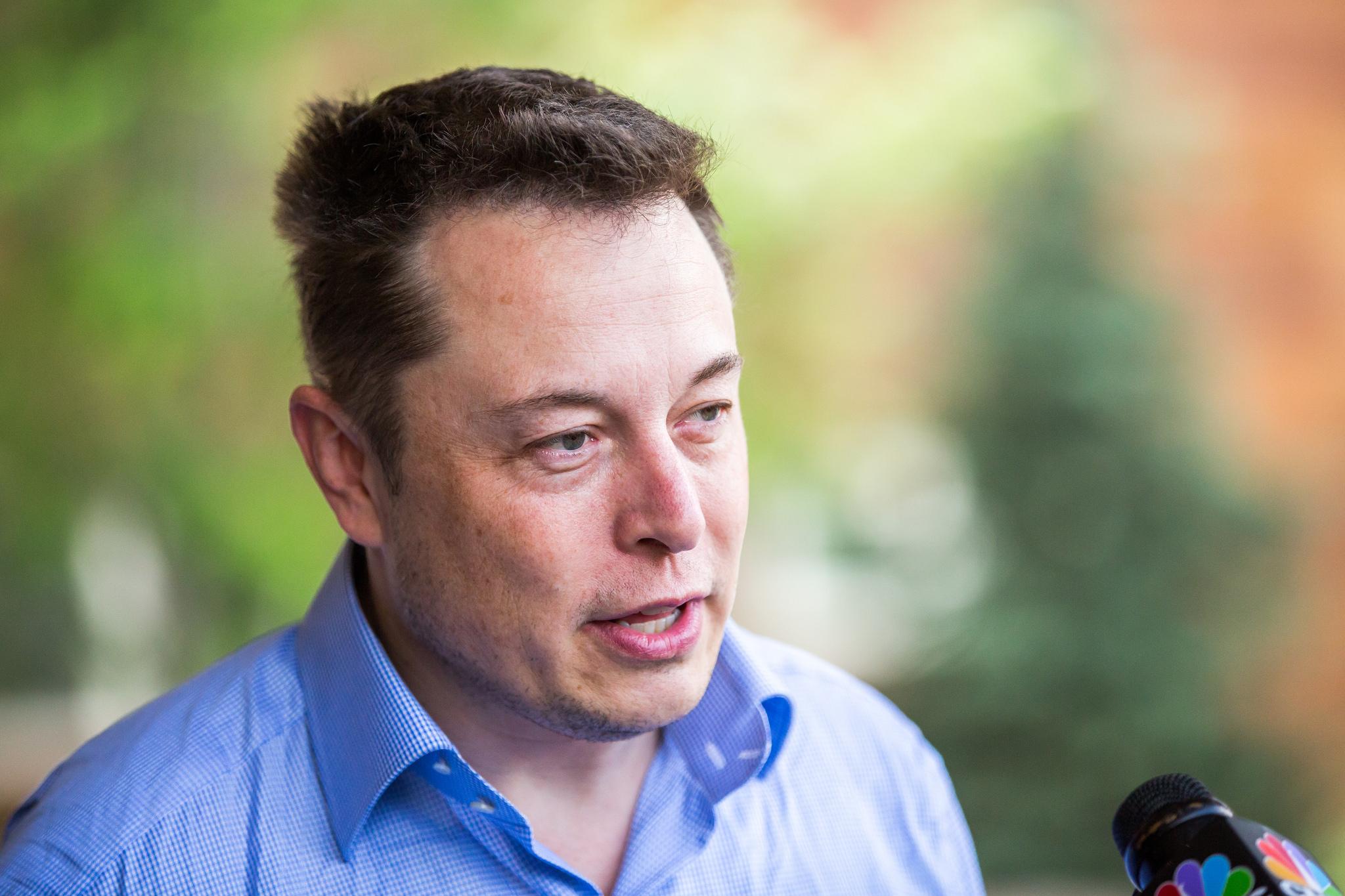 Šéf Tesly Elon Musk