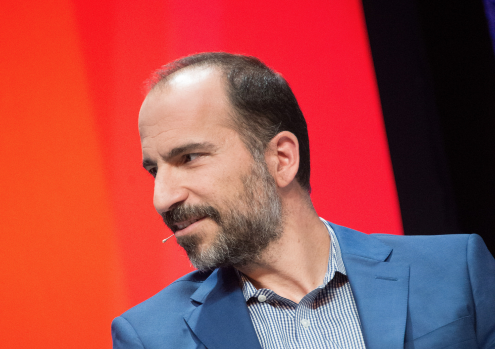 CEO Uberu Dara Khosrowshahi, který dohodu se SoftBankem pomáhal vyjednávat
