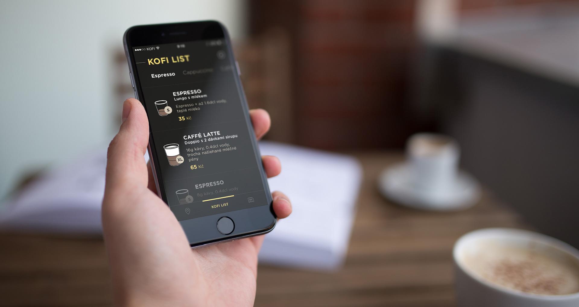 Jedna z aplikací vytvořená studiem Touch Art.