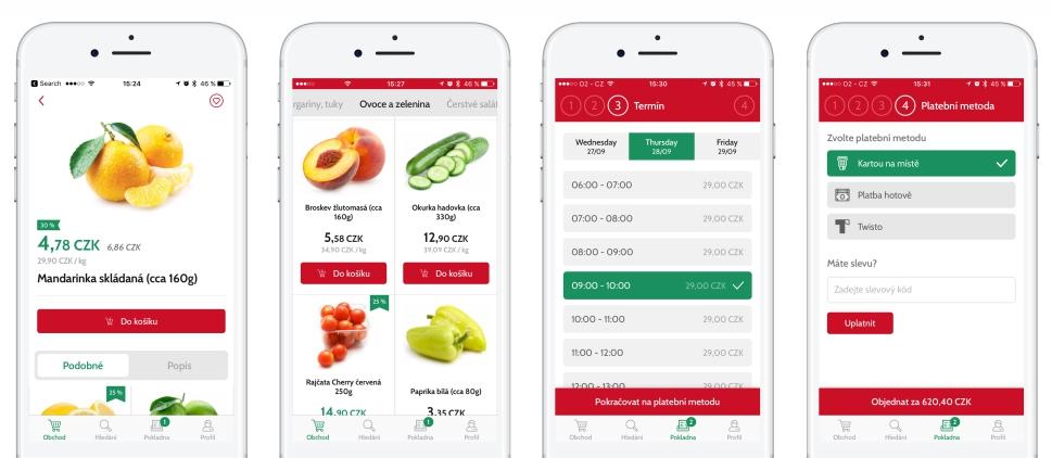 Potravinový e-shop Košík.cz spustil vlastní mobilní aplikaci