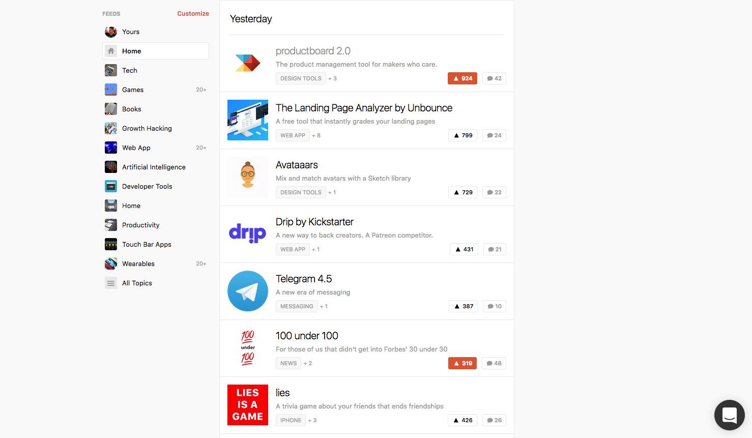 ProductBoard se stal včera nejlepším produktem na portálu ProductHunt