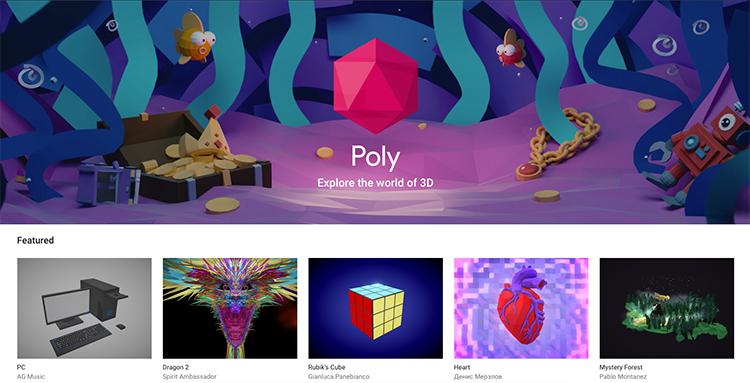 Google reaguje na trend rozšířené reality a spouští bezplatnou databázi 3D objektů