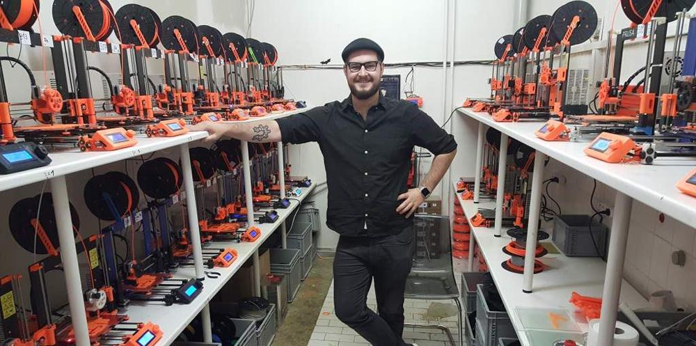 Josef Průša a jeho Prusa Research získal ocenění za nejlepší 3D tiskárnu roku
