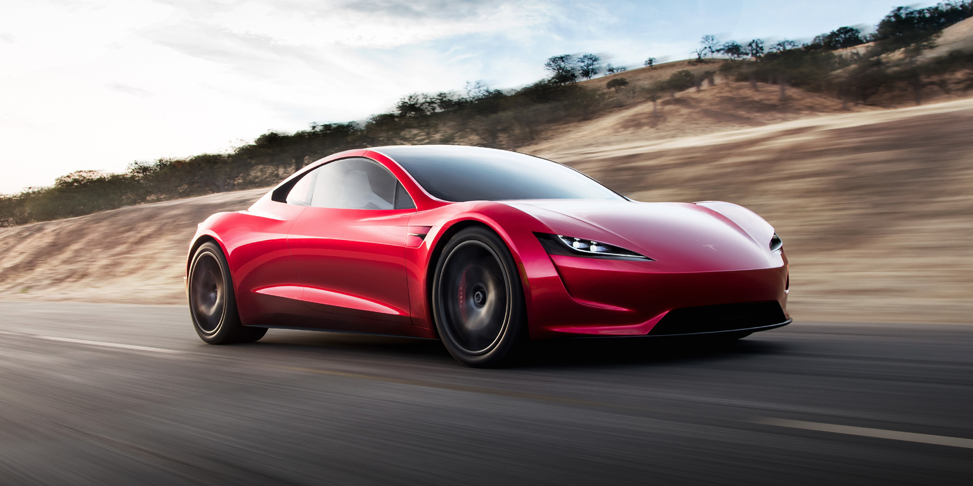 Chystaný facelift Tesla Roadster.