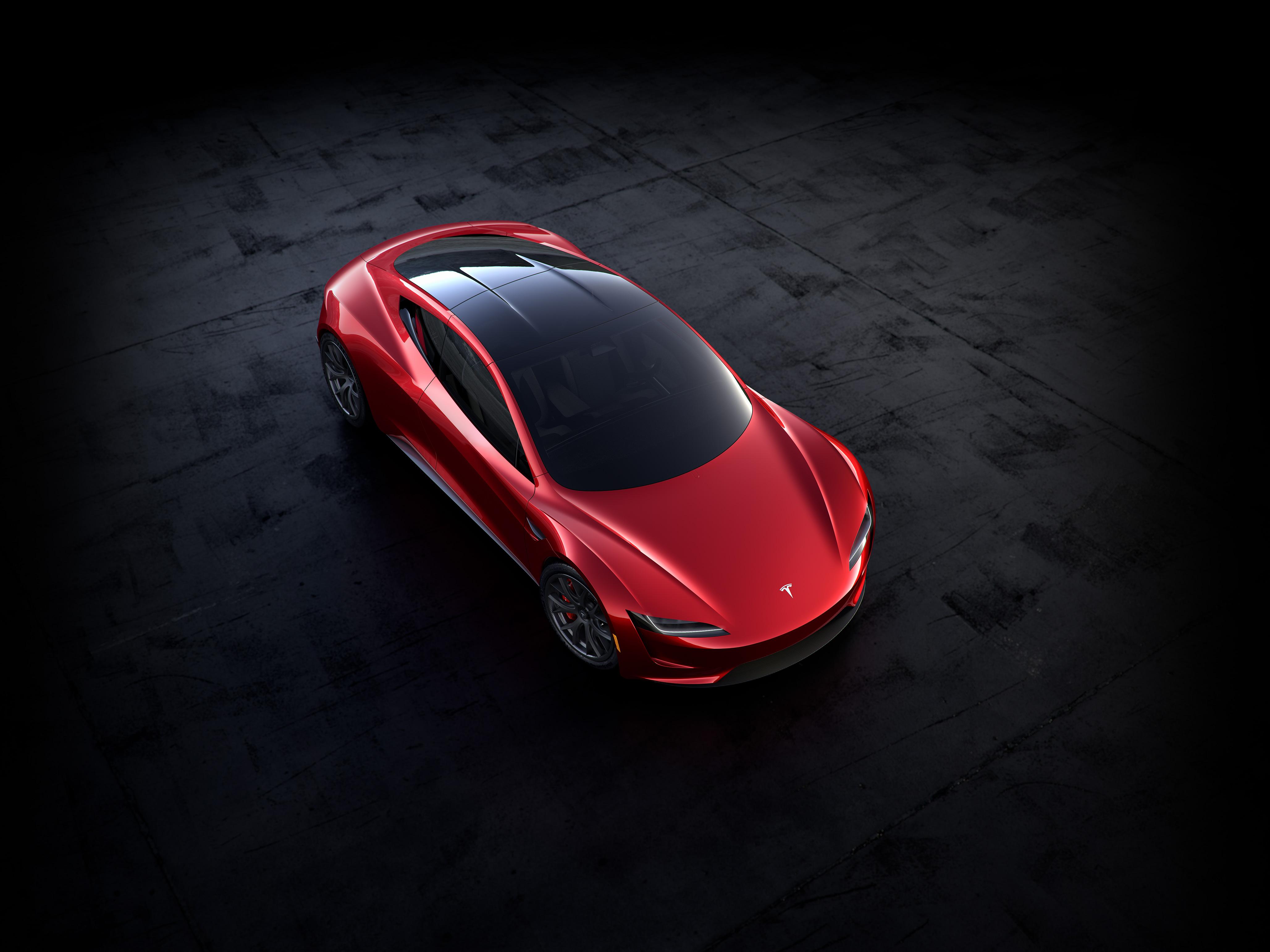 Design nového Tesla Roadsteru, který je k dispozici k předobjednávkám