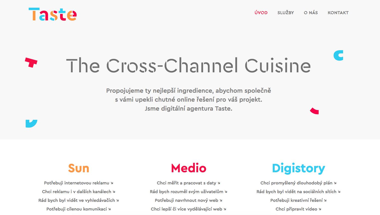 Web agentury Taste