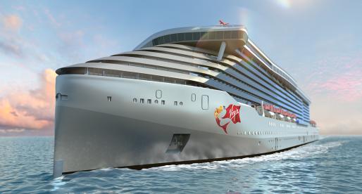 Virgin miliardáře Richarda Bransona se pouští do lodní přepravy. Staví loď pro téměř 3000 lidí