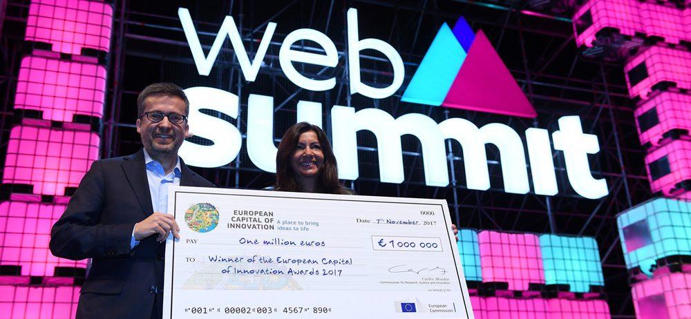 Nejinovativnějším městem Evropy se na WebSummitu stala Paříž