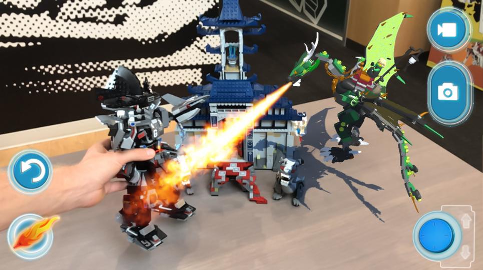 LEGO představilo AR aplikaci, se kterou můžete doplňovat vaše stavebnice o virtuální modely