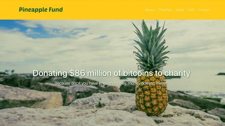 Charitativní bitcoinový projekt již rozdal přes 15 milionů dolarů v Bitcoinech