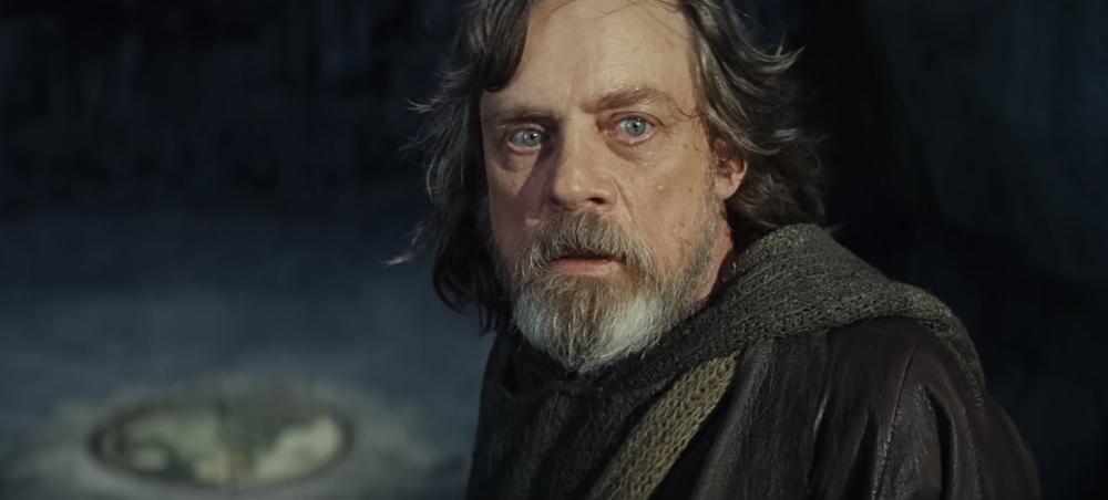 Mark Hamill v roli kultovního Jedie Luka Skywalkera, kterého ztvárnil i v původní trilogii