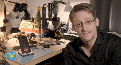 Edward Snowden vyvinul aplikaci, která přetvoří běžný telefon na bezpečnostní systém