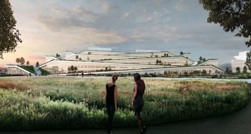 Google ukázal podobu svého nového kampusu, který pojme až 4500 zaměstnanců