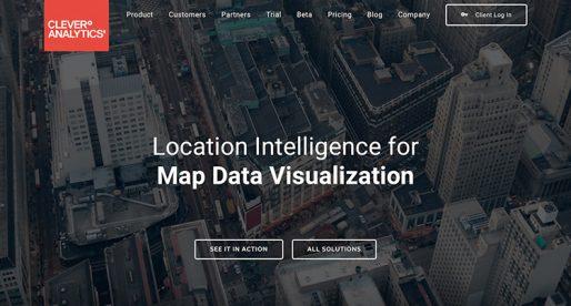 Český startup CleverAnalytics vyvinul nástroj pro analýzu byznysových dat na mapách