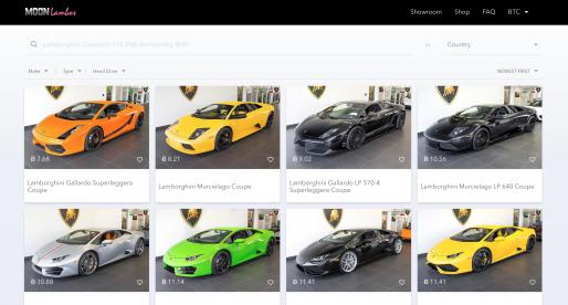 Díky tomuto projektu si můžete za Bitcoin nebo Ethereum koupit luxusní automobil Lamborghini