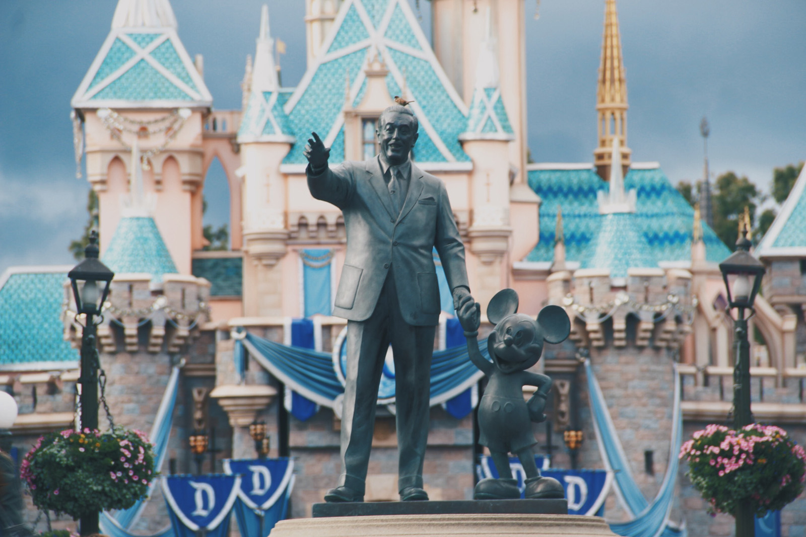 Socha Walta Disneyho v Anaheimu