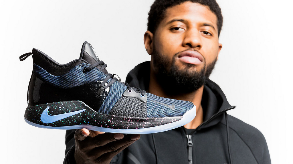 Paul George a jeho signature boty PG-2