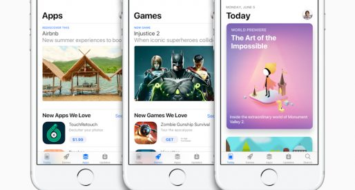 Zákazníci za aplikace na App Store utratili během Vánoc rekordních 890 milionů dolarů